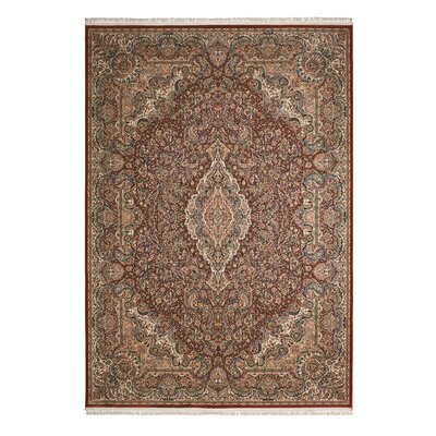 Catarina Terracotta Area Rug Rug Size: Rectangle 99 x 139