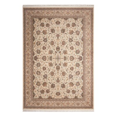Catarina Cream Area Rug Rug Size: Rectangle 99 x 139