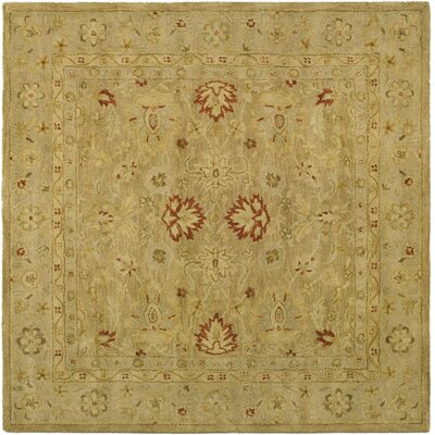 Bishop Brown/Beige Area Rug Rug Size: Square 4