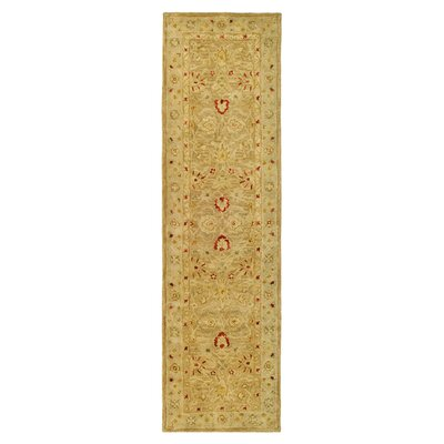 Bishop Brown/Beige Area Rug Rug Size: Runner 23 x 14