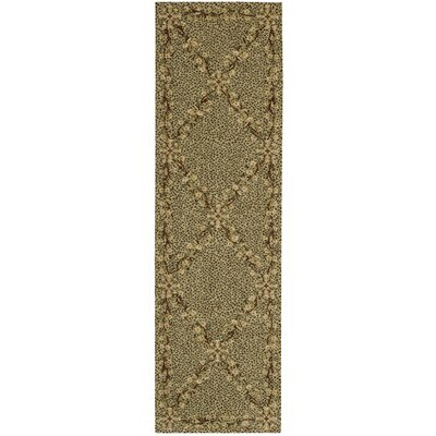 Forest River Sand Area Rug Rug Size: Runner 23 x 8