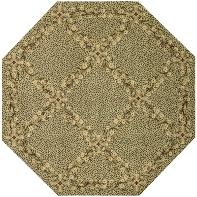 Forest River Sand Area Rug Rug Size: Octagon 56