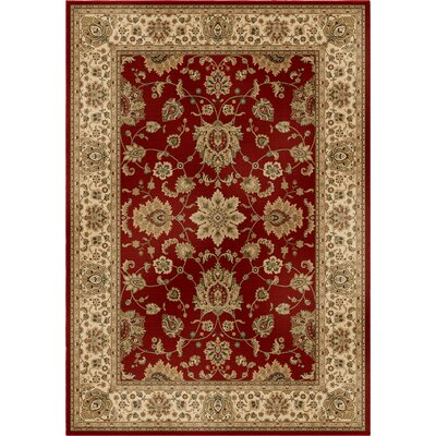 Bergues Red Wine Area Rug