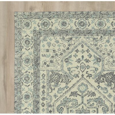 Eugene Hand-Tufted Gray Area Rug