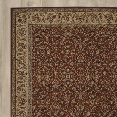 Corvallis Red/Beige Area Rug