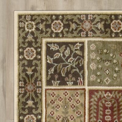 Courtland Beige/Green Area Rug