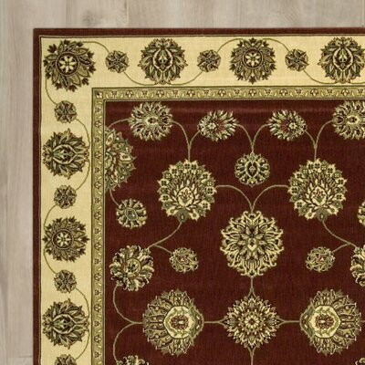Barnum Beige/Red/Green Area Rug