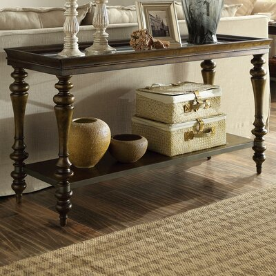 Versailles Console Table Finish: Mink Brown