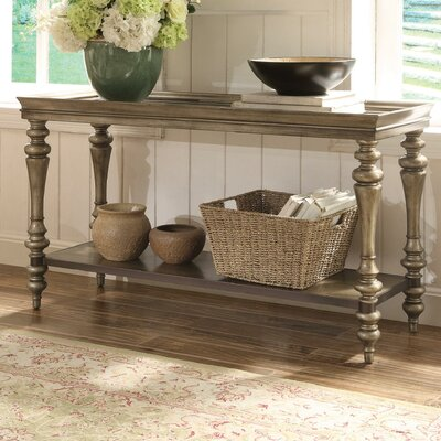 Versailles Console Table Finish: Smoked Silver