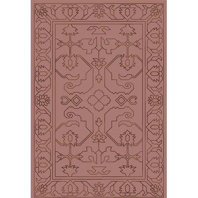 Singita Hand-Woven Beige Area Rug Rug Size: 4 x 6