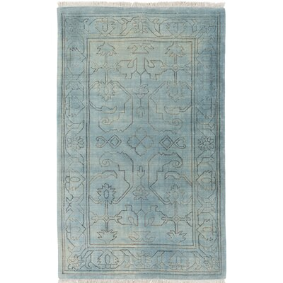 Singita Hand-Woven Blue Area Rug Rug Size: Rectangle 8 x 10