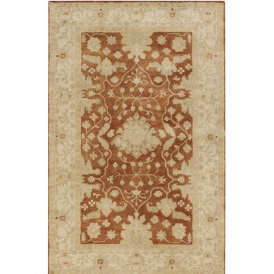 Raffles Hand Tufted Brown/Beige Area Rug Rug Size: Rectangle 8 x 10
