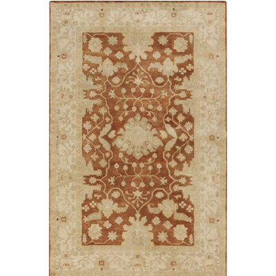 Raffles Hand Tufted Brown/Beige Area Rug Rug Size: Rectangle 5 x 76