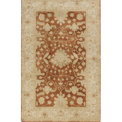 Raffles Hand Tufted Brown/Beige Area Rug Rug Size: Rectangle 9 x 13