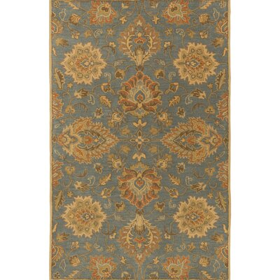 Kempinski Hand-Tufted Blue/Beige Area Rug Rug Size: Rectangle 4 x 6