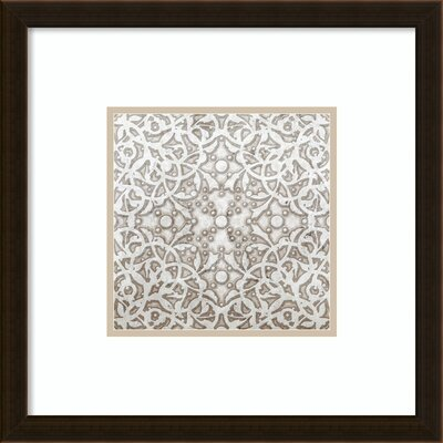 Applique Framed Graphic Art