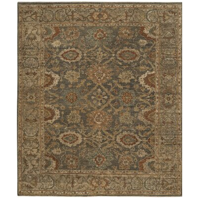 Ayers Gray/Beige Area Rug Rug Size: Rectangle 6 x 9