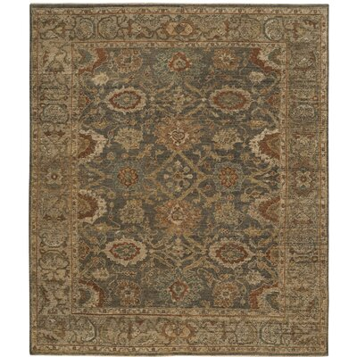 Ayers Gray/Beige Area Rug Rug Size: Rectangle 8 x 10
