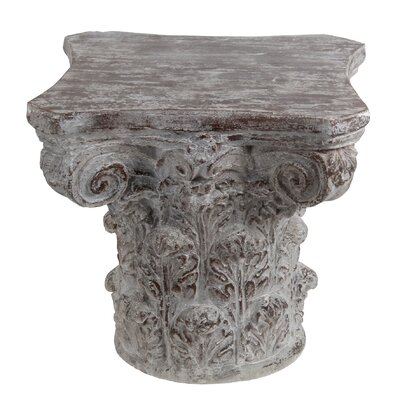 Ayward End Table Finish: Dark Stone Gray