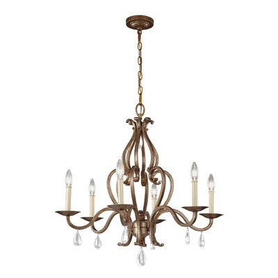 Babington 6-Light Candle-Style Chandelier