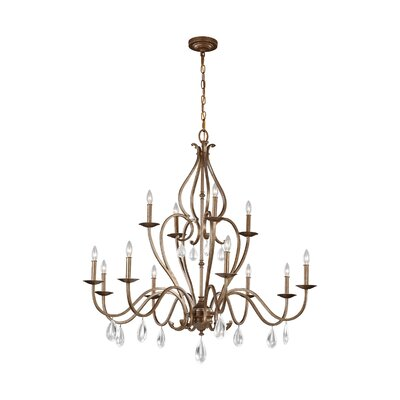 Babington 12-Light Candle-Style Chandelier