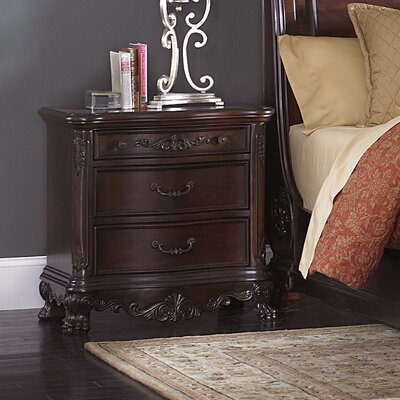 Chalus 2 Drawer Nightstand