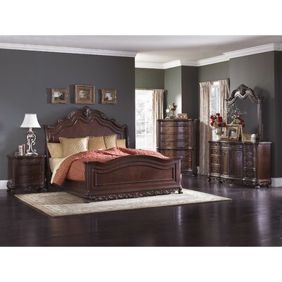 Chalus Queen Panel Customizable Bedroom Set