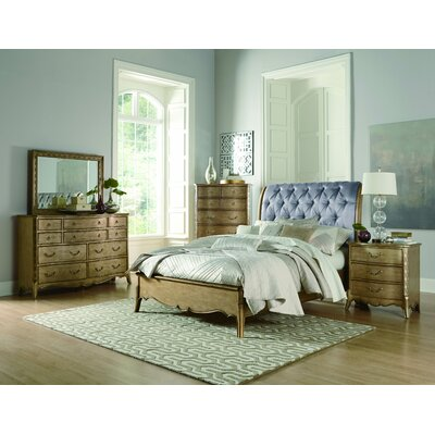 Bainbridge Upholstered Sleigh Bed Size: Queen