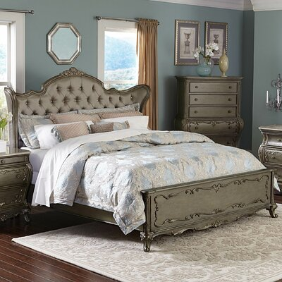 Turville Upholstered Panel Bed Size: Queen