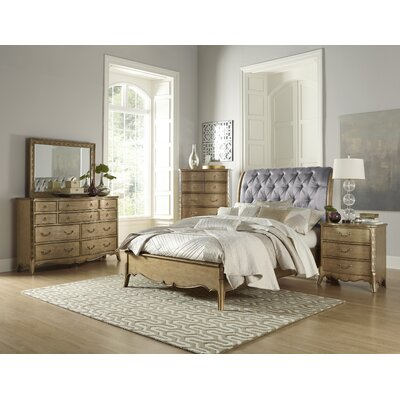 Bainbridge 10 Drawer Dresser with Mirror