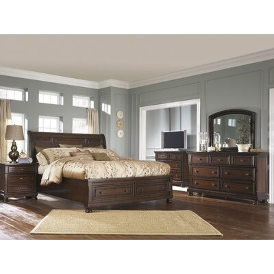 Hanley Platform Customizable Bedroom Set