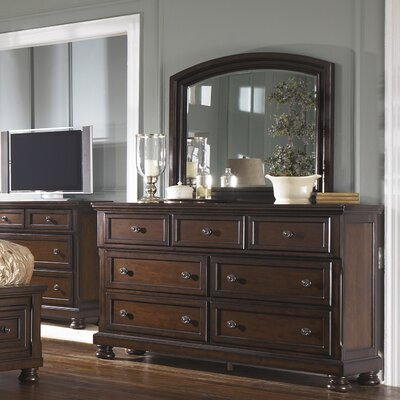 Hanley 7 Drawer Dresser with Mirror
