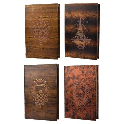 4 Piece Turin Book Box Set