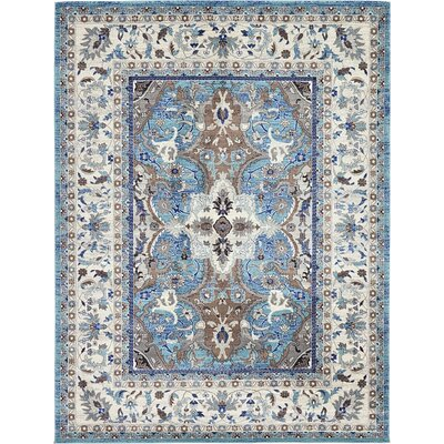 Exeter Light Blue Area Rug