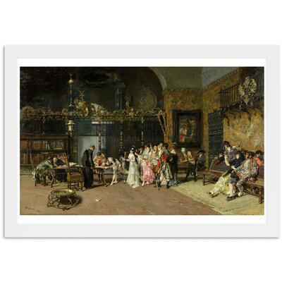 La Vicaria Framed Painting Print