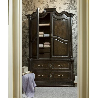 Sofitel Armoire Base Finish: Melange