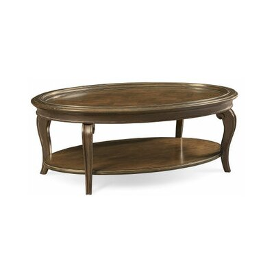 Sofitel Coffee Table with Tray Top Color: Nutmeg