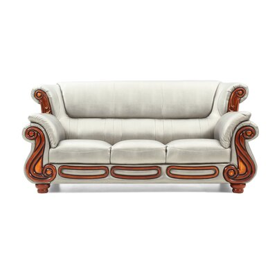 Baisden Sofa Color: Antiqued Silver