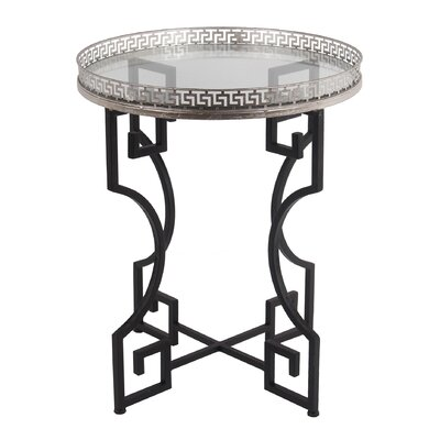 Baldock End Table Finish: Silver