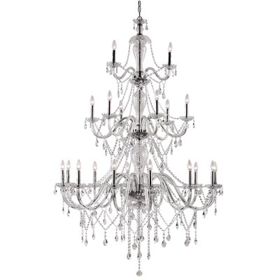 Barnard 21-Light Crystal Chandelier