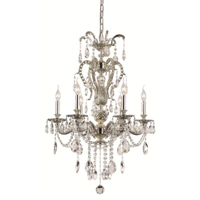 Barner 6-Light Crystal Chandelier