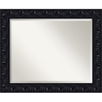 Rectangle Black Wall Mirror
