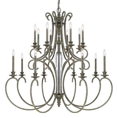 Balster 16-Light Candle-Style Chandelier