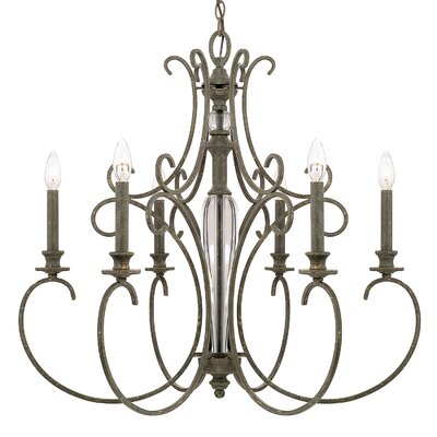 Balster 6-Light Candle-Style Chandelier