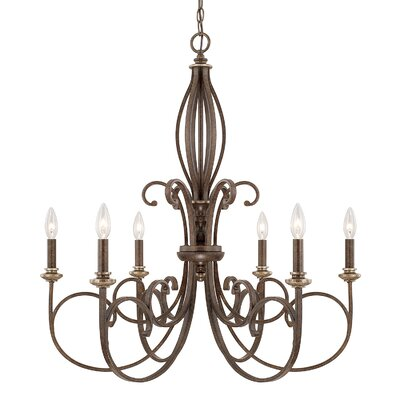 Banfield 6-Light Candle-Style Chandelier