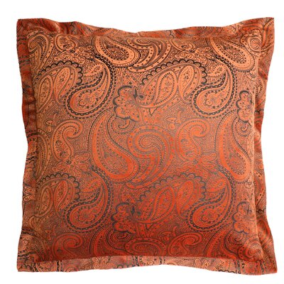 Balderston Throw Pillow Color: Rust
