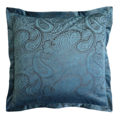 Balderston Throw Pillow Color: Slate Blue