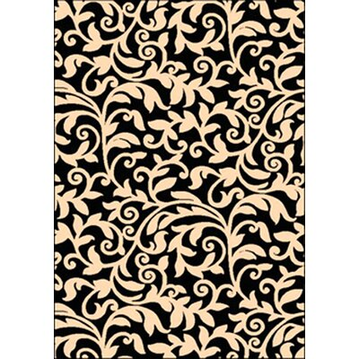 Barrington Black/Ivory Indoor/Outdoor Area Rug
