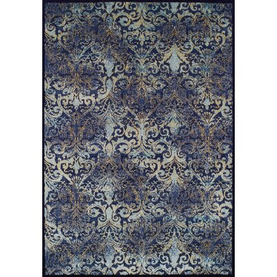 Denim Area Rug Rug Size: 53 x 76
