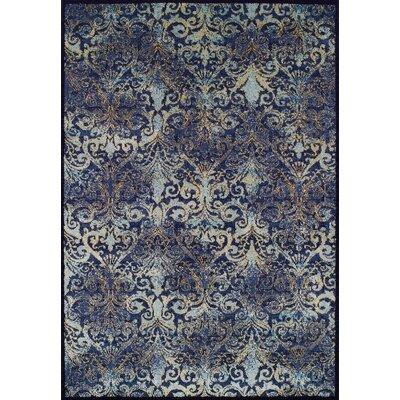 Denim Area Rug Rug Size: 53 x 76